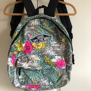 Vans Hawaiian Print Backpack